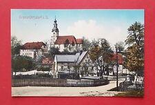 AK GROßRÖHRSDORF um 1910 Platzansicht mit Kirche  ( 37592