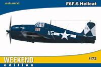 Eduard Weekend Edition 1:72 F6F-5 Hellcat Aircraft Model Kit