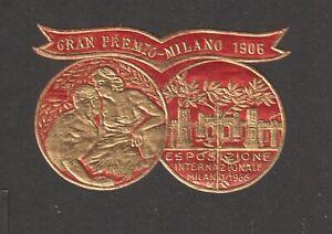 Italian Poster Stamp Milan 1906