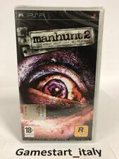 MANHUNT 2 - SONY PSP - VIDEOGIOCO NUOVO SIGILLATO - NEW SEALED PAL VERSION