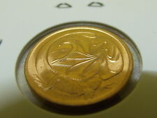 1989 UNC 2 cent coin from MINT ROLL, comes in 2x2 coin HOLDER