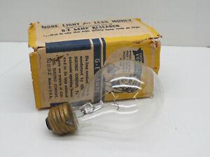 GE Incandescent 100W 120V Traffic Signal Lamp Light Bulb Base Down to Horizontal