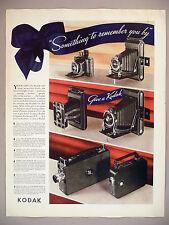 Kodak Camera PRINT AD - 1935 ~ six models
