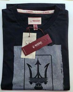Maserati T-Shirt- Blue