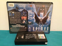 Batman : Mask of the phantasm VHS tape & clamshell case  FRENCH