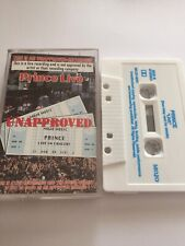 Prince Live Unapproved Cassette Very Rare