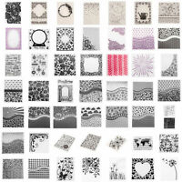 Plastic Embossing Folder Mold DIY Scrapbooking Fondant Stencil Paper Cards Craft