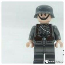 Lego COMPATIBILE : MiniFigures WW2 MILITARY (  SOLDATO )