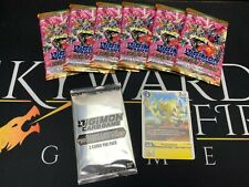 More details for great legend (bt04) prerelease kit - digimon card game (new) pulsemon