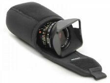 ARTISAN And ARTIST ACAM-411 Flap Type Lens Case Black Nylon Chloroprene rubber