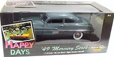 ERTL 1/18 HAPPY DAYS '49 Mercury Coupe CAIRO GRAY 32855 NEW American Muscle 1949