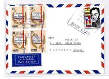 CM333 *PERU* Missionary Air Mail MIVA Austria Cover