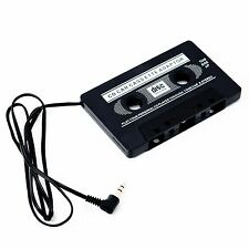 Cassette de Bande Adaptateur autoradio Noir 3.5mm pour Mp3 iPod iPhone Nano