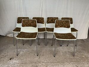 Set Of 6 Retro Hille Chairs - Chair Centre - Mid Century - Stylish