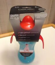Bebek Plus+ BPA Free Training Cup Flexible Spout-Spill Proof-Anti-Colic 9m+ New