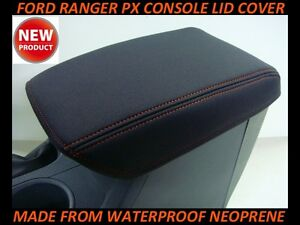 FITS FORD RANGER PX NEOPRENE CONSOLE LID COVER (WETSUIT) PX I - PX 2 - PX 3