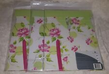Gift Boxes, American Greeting, white/green, Floral Gift box, 3 ct with Ribbon
