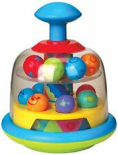 Funtime Spinning Popping Pals Baby Spinning Balls Activity Top Toy Toddler
