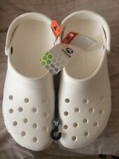 Brand New Mens Original White Crocs Clog Shoes Size 11 New With Tags