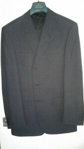 Grey suit Di Caprio 3 Button Single Breasted Wool Mix  42x34 Ideal Work Suit