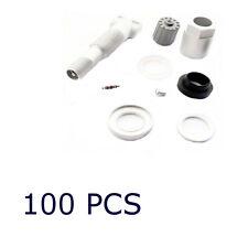 100 PCS TPMS Valve Stem Rebuild Replacement Kit For Land Range Rover Sport 06-10