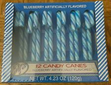 Blueberry Candy Canes 12 Count
