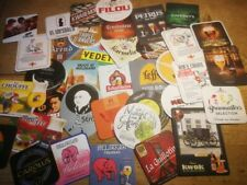 set 300 different Belgian beer coasters bierviltjes bierdeckel sous bock