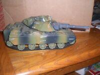 Vintage 1998 GI Joe Motorized Mobat Camo Tank X-08 Vehicle Cobra