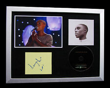 LAURA MVULA+SIGNED+FRAMED+GARDEN+SING TO MOON=100% AUTHENTIC+EXPRESS GLOBAL SHIP
