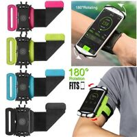 Rotation Case Cover Holder Running Wrist Band Jogging Armband For Mobile Phone