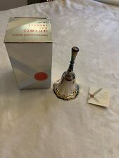 "Vintage 1978 Avon Hudson Manor Collection ""Silverplated Hostess Bell"" - New!"
