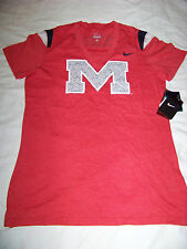 Nike Women's Ole Miss Rebels Mississippi Shirt NWT Large