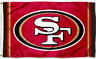 San Francisco 49ers Red Flag ~ Large Banner  3'X5' ~ NFL ~ FREE SHIPPING