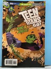 2004 Teen Titans Go! Comic # 26 Cartoon Network ~ Beast Boy Hive 5