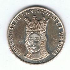 Medalla de plata conmemorativa 75 Aniversario 1921-1996 Hermandad Virgen de la V