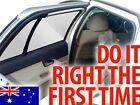 1 WHITE DESIGN CAR SIDE REAR WINDOW SUN SHADE TINT – BABY KIDS, FITS ANY CAR