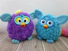 Set of 2 Hasbro Furby Blue & Purpel Soft Plush Toy 20cm Kids Great Gift