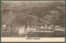 VERBANIA MERGOZZO 06 OSSOLA - BRACCHIO Cartolina