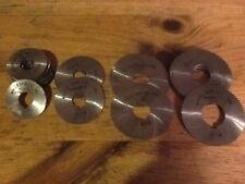 Malco .018 wide:1 3/4x5/8 90T,2 1/4x5/8 60T,2 3/4x3/4 72T,2 3/4x1 72T