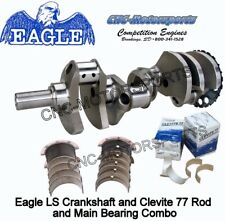 LS1 383 Stroker Crank Eagle Crankshaft Forged, 4.000, 24T with Bearings