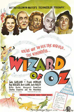 VINTAGE THE WIZARD OF Oz FILM A2 POSTER PRINT