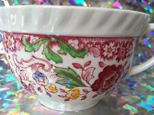Johnson Brothers Flat Cup WINCHESTER PINK Rope Edge CUP ONLY