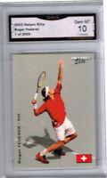 2003 Roger Federer Netpro Elite SP  Rookie card Gem Mint 10 1 of 2000  #3