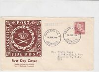 denmark 1948  stamps cover ref 19627