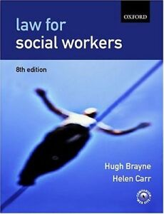 Law for Social Workers By Hugh Brayne, Gerry Martin, Helen Carr