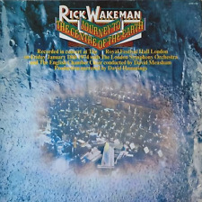 RICK WAKEMAN - Journey To The Centre Of The Earth (LP) (EX/VG) (2)