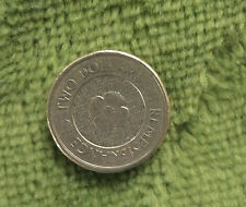 2012  REMEMBRANCE POPPY CIRCULATED AUSTRALIAN  2 DOLLAR $2 COIN