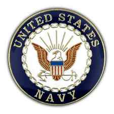 Us Navy X- Large Pin 1.5 inch Double Post