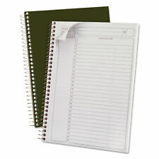 Ampad Gold Fibre Wirebound Writing Pad Withcover 9 14 X 7 14 White Green Cover