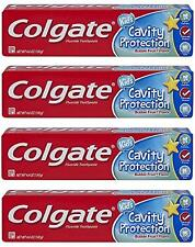 4 Colgate Toothpaste Kids Cavity Protection Bubble Flavor Fluoride Gentle 4.6 oz
